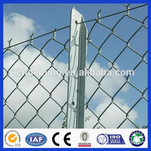 high quality decorative color-coated chain link fencing