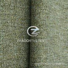 100% Poly Herringbone Lin Mini Tissu Matelas pour Uniforme, Sofa et Vêtements de Travail