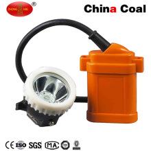Lâmpada de LED de cabeça de mineiro de bateria