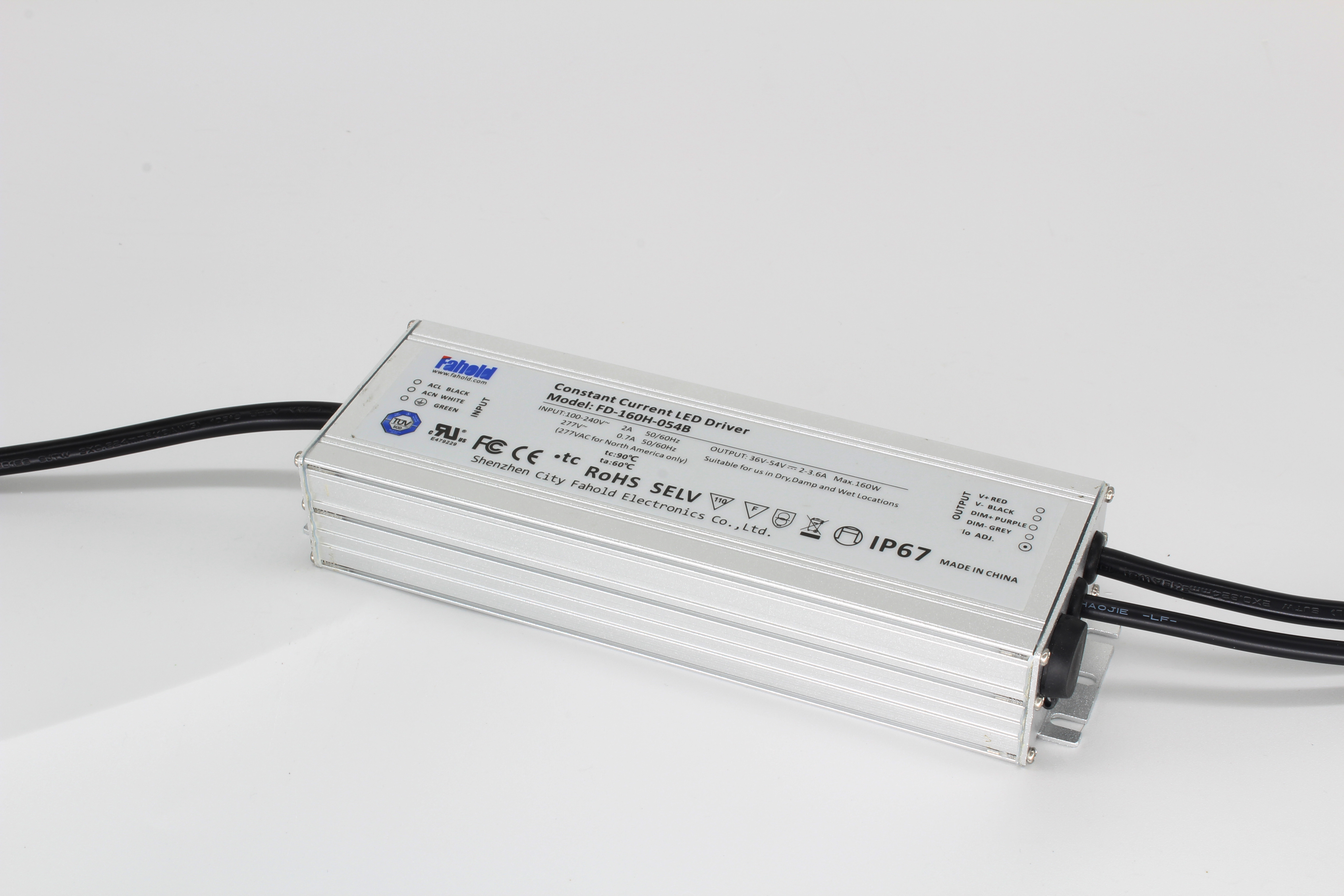 IP67 Aluminum Case Led Driver
