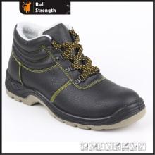 Grundlegende Winter Sicherheit Schuh mit PU Einspritzung Laufsohle (SN5208)