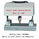Portable metal vin number marking machine Engine number dot peen stamping machine