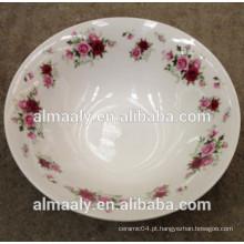 Tigela de porcelana porcelana