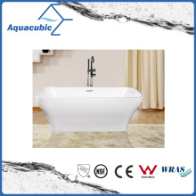 Bathroom Square Acrylic Free-Standing Bathtub (AB1520W)
