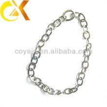 Деликатный подарок из нержавеющей стали ювелирные изделия из серебра женщин длинное ожерелье цепи