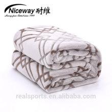 Tecido de manta de flanela Niceway em tecido manta de flanela cobertor de alta qualidade