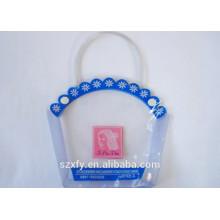 Caixa de plástico impresso personalizado Pvc com alça