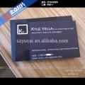 Silk screen embossing visitenkarten für business