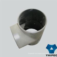 Camiseta de montaje de tubería de acero inoxidable 304 304L con CE