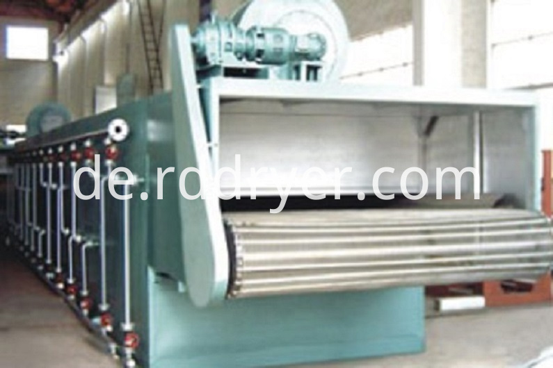 Single Pass Belt Drying Machine
