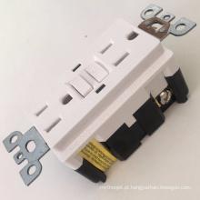 Certificados UL receptáculos elétricos coloridos GFCI