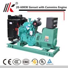 COM SOUNDPROOF 20KW-200KW DCEC / MOTOR CCEC e GERADOR DIESEL EXCELENTE DO ALTERNADOR DE STAMFORD