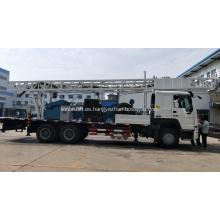 Plataforma de perforación de pozos de agua montada en camión de 400 m de profundidad