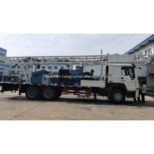 Deep 400m Truck-Mounted Water Well Drilling Rig