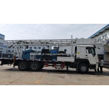 Plataforma de perfuração de poço de água profunda de 400 m montada em caminhão