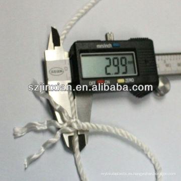 Cordón retorcido de nylon de 3MM para embalar