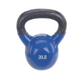 20 LB Blue Vinyl Coated Kettlebell