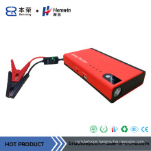 12V Red Car Jump Starter for Gasoline and Diesel Car
