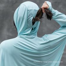 Rockbros Women′s Outdoor UV Protection Thin Sunscreen Clothing