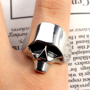 New punk style retro cool personality shaped ring