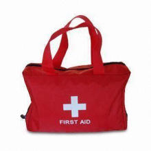 Medical Bag/First Aid Kit, Measures 15 x 21cm, Customized Logos are Welcome