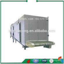 China Congelador de túnel IQF