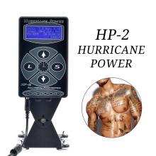 Professionelles Hurricane HP-2 Tattoo-Maschinen-Netzteil Dual Intelligent Digital LCD Rotary Tattoo