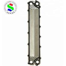 Permutador de calor marinho 0.5mm ss304 placa high-theta S8A