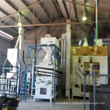 10 tonnes par heure de l'usine de nettoyage des semences d'orge