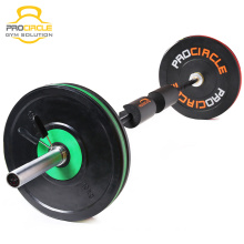 Natural Rubber WeightLifting Training Gym Weight Plate