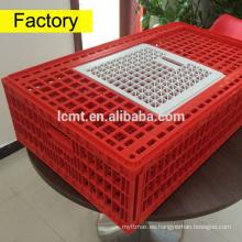 Nueva jaula de transporte de pollos de plástico de ganado en venta
