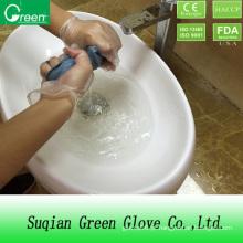 Luvas descartáveis industriais de sala limpa