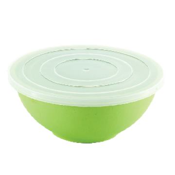 Round and Large Salad Bowl with Lid