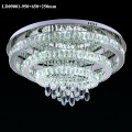 3 rings chandelier crystal LED light indoor ceiling lamp