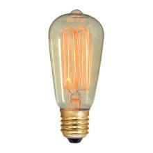 St64 Лампа 19 анкеры Эдисон освещение Лампа накаливания 25ВТ/40Вт/60Вт