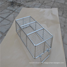Big capacity stainless steel wire mesh storage basket