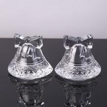 Venda quente em forma de sino ornamento de vidro / castiçal tealight