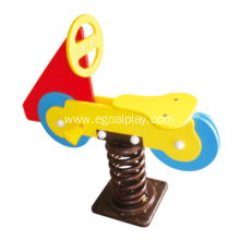 Cheap for Play Metal Rider,Spring Riders,Spring Seesaw,Outdoor Playground Rider Wholesale From China Motocycle HDPE Spring Rider supply to Congo Factory