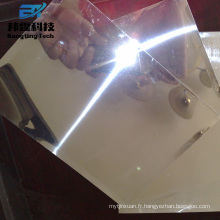 7000 série aluminium 7050 7075 t6 1.8mm en aluminium feuille miroir en verre