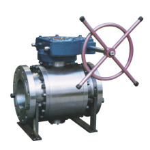 Manufacturer Class 600 Cast Steel Trunnion Flanged Ball Valve