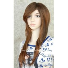 remy hair traning mannequin head-006(100% human hair)
