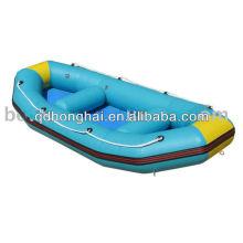 bateaux gonflables rafting, bateau de pêche