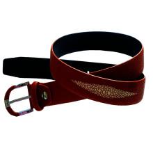 Men Jeans Pants Pin Buckle Leather Belt (HJ0183)