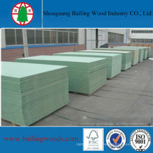 E1/E2 Green Water Resistant Raw MDF