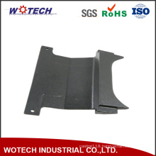 Lost Wax Casting Steel Machine Part with Black Anodized Surface