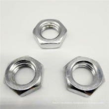 Polished Plain Nyloc Flange Lock Wing Nut