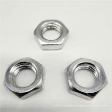 Polished Plain Nyloc Flange Lock Wing Nut