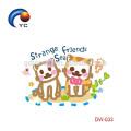 2018 etiquetas provisórias da tatuagem do jardim zoológico da pele Eco-amigável para crianças