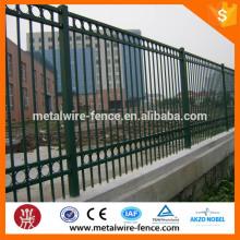 2016 shengxin alibaba metal patio trasero piquete de acero cerca