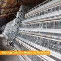 Горяч-погружение Гальванизировала ячеистую сеть Тип слоя птицы батареи клетки